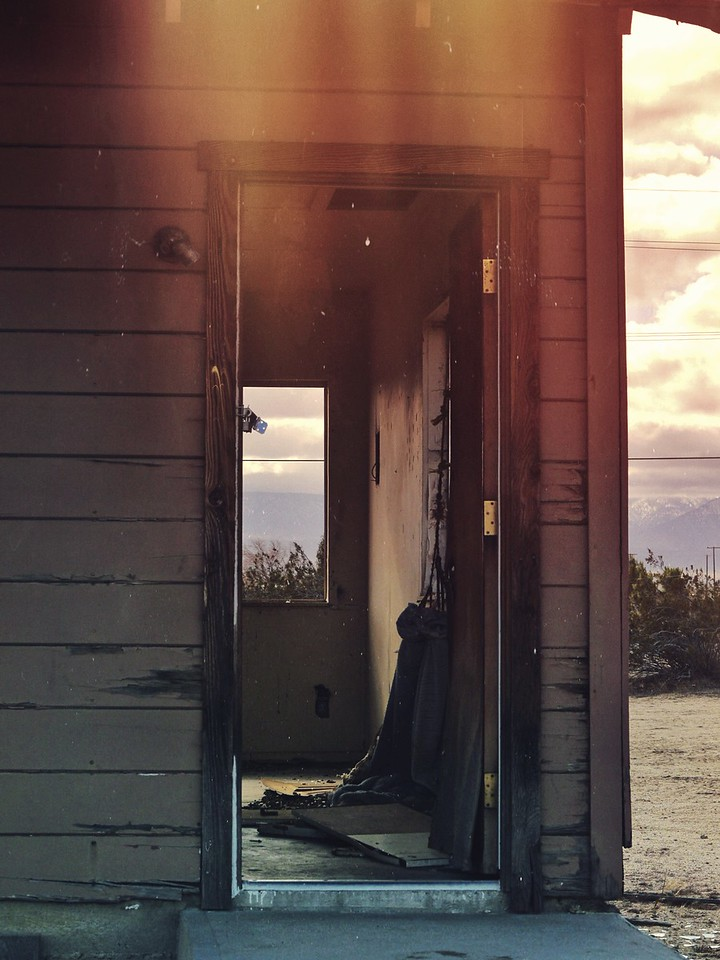 Abandoned Home #1 in Victorville, California