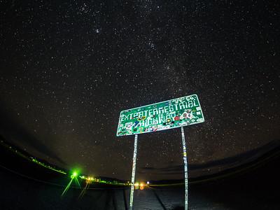 Extraterrestrial Highway in Nevada