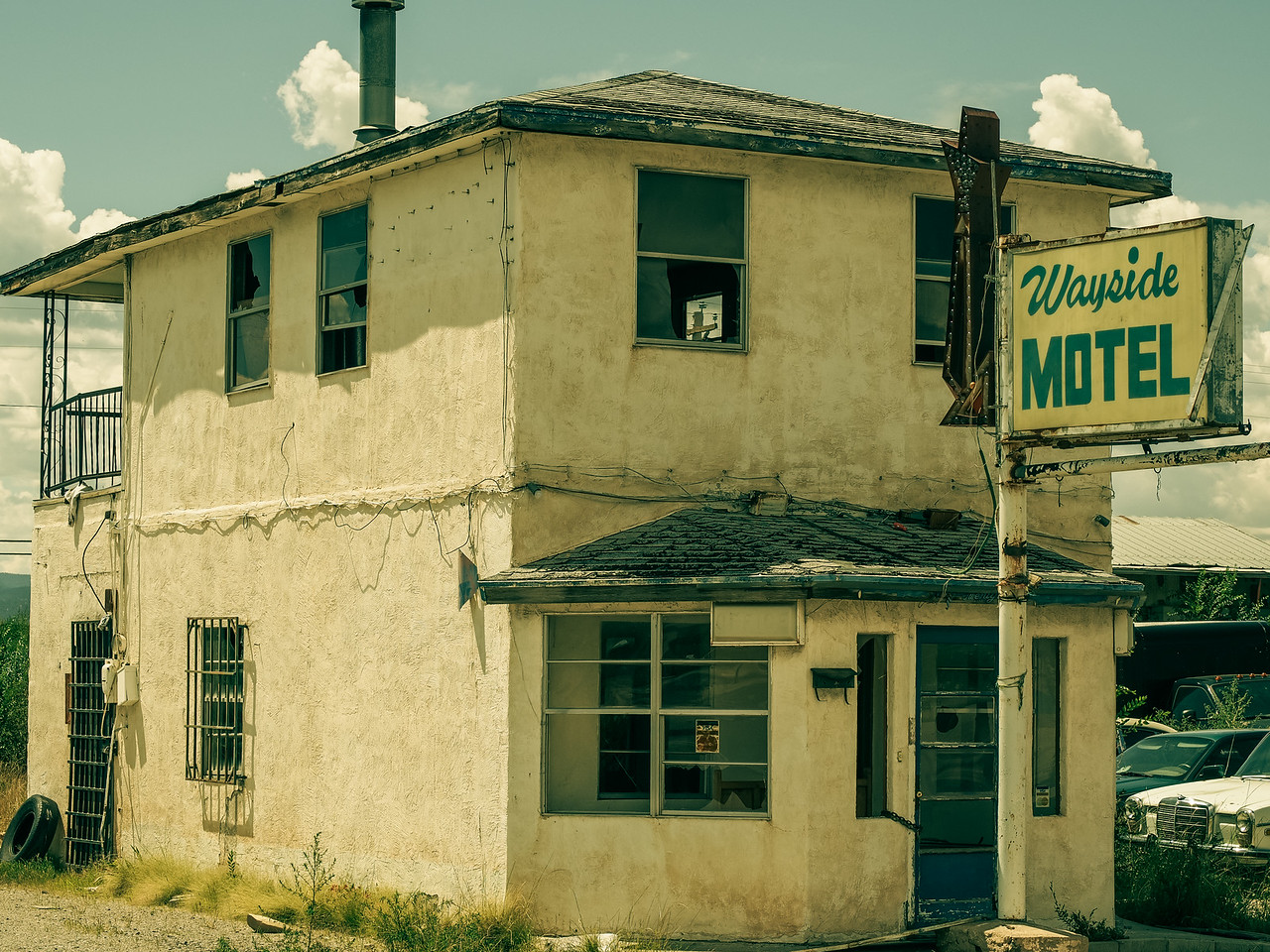 Abandoned Time Period Hotel in New Mexico