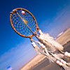 A dream catcher that Tony found a few days before on the roadside before. Most of the items that Tony relies on were found on roadsides during his travels. He also depends upon the hospitality of good-hearted folks to get by from day to day. He described this lifestle as difficult but worth the effort to live! He was a very smart man with a lot of opinions on life. He seemed to have a logical answer for just about everything.
