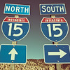 North & South on the Interstate