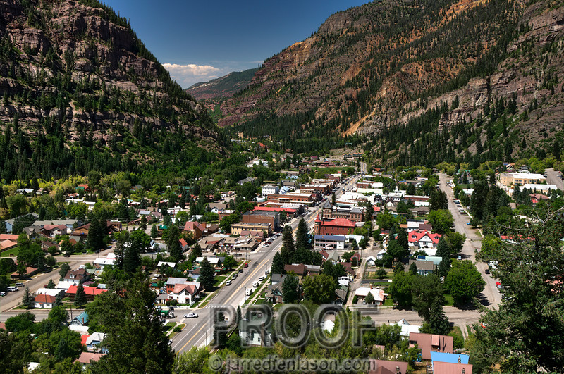 """Little Switzerland"" - Ouray Colorado"