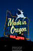 """Made in Oregon"" - Portland Oregon"