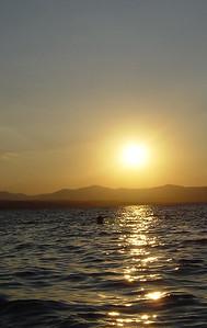 Sunset in Greece