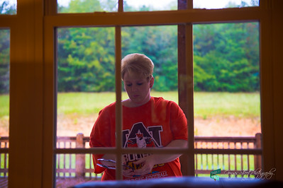 10-18-15 the cook in her orange glory....