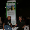 CleanFuel USA, Mike Merwarth speaks to Jay Godfrey of Environmental Propane Conversions at the AltCar Expo.