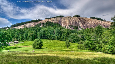 The highly visited pluton of Stone Mtn. in Traphill, NC...a friction climbers playground.