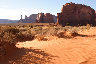 How does one photograph Monument Valley - the site of no less than twenty movies. It is the veritable logo of the west.