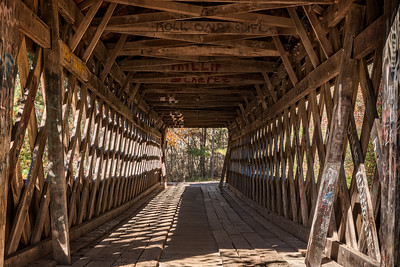 """Poole's Mill Covered Bridge #2"""