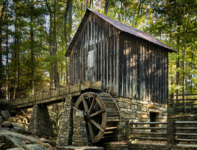 """Abandoned Grist Mill"""