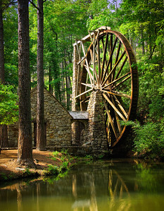 """Old Mill Wheel #2"""