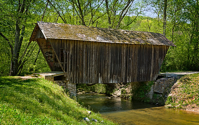 """Stovall Mill Covered Bridge"""