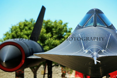 Lockheed SR71A Blackbird.