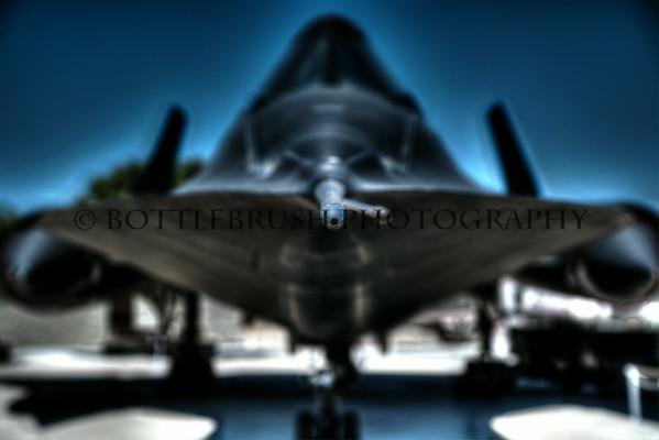 Lockheed SR-71A Blackbird.