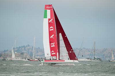 Prada chasing Oracle downwind