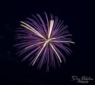 Amherstburg Fireworks 2017