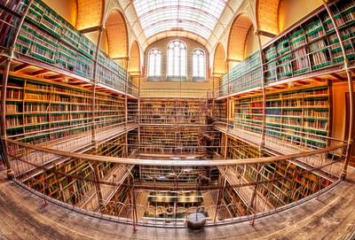 Rijks Museum Library Glow