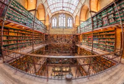 Rijks Museum Library Paitned