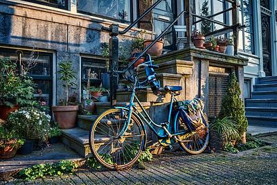 Amsterdam Parked Bike