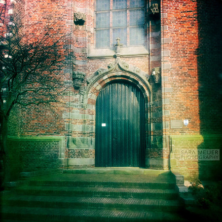 Door of Church of Ransdorp
