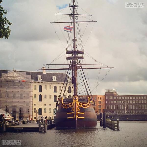 VOC ship Scheepvaartmuseum
