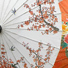 Pretty parasols, orange
