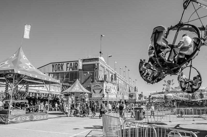 York Fair Fun (2015, B&W)