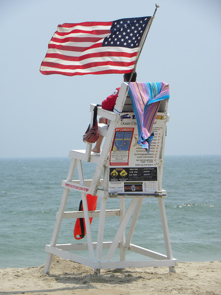 Fourth of July lifeguard