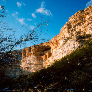 Montezuma Castle,Arizona