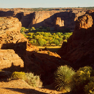 Canyon de Chelly from South rim