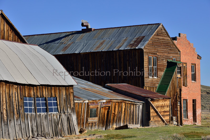 Wild West Bodie, CA. Spring 2014