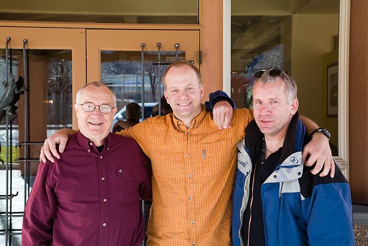 Me, Andy Biggs & Kevin Bolin