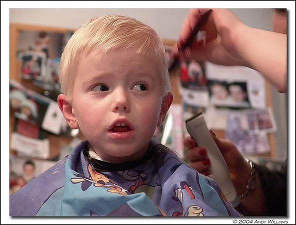 "fourth kodak potd, ""the haircut"" july 26, 2004"