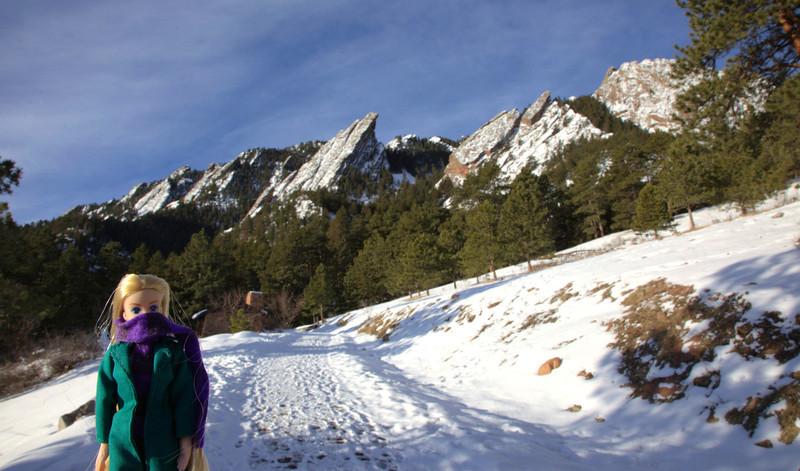 The Flatirons, Boulder, CO<br /> Brrr