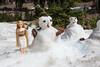 Making snowmen, Lassen National Park