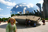 Cloud Gate (aka The Bean) at Millennium Park