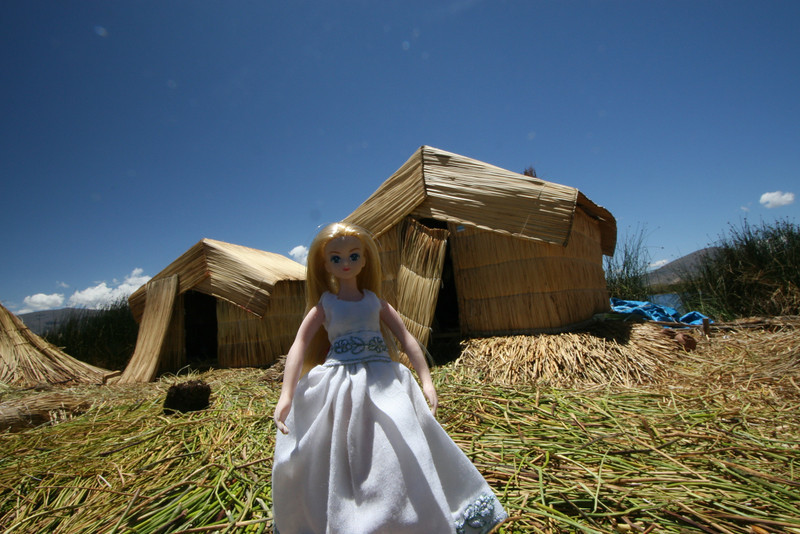 On an Uros floating island