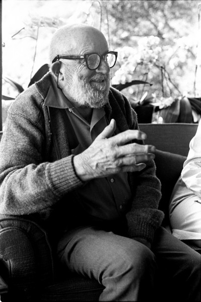 Ansel Adams told Allison that he tried to give every interviewer something unique.