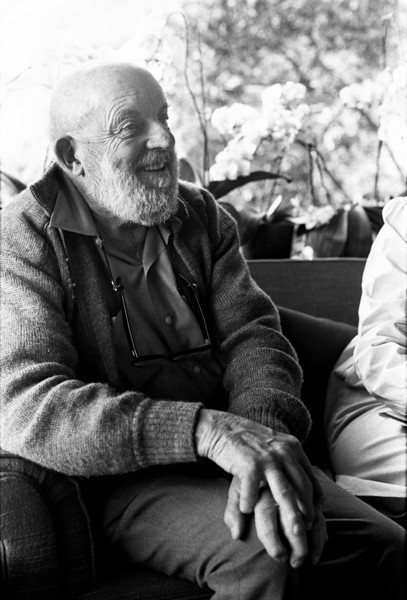 Ansel Adams seemed to genuinely enjoy the interview.