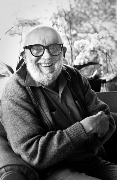 Ansel Adams made a real effort to be an easy subject to photograph.
