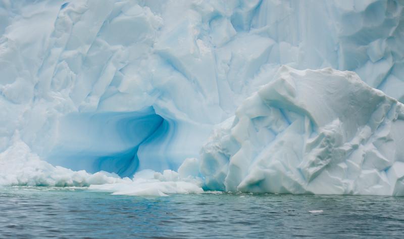 Ice sculptures near Cuverville Island