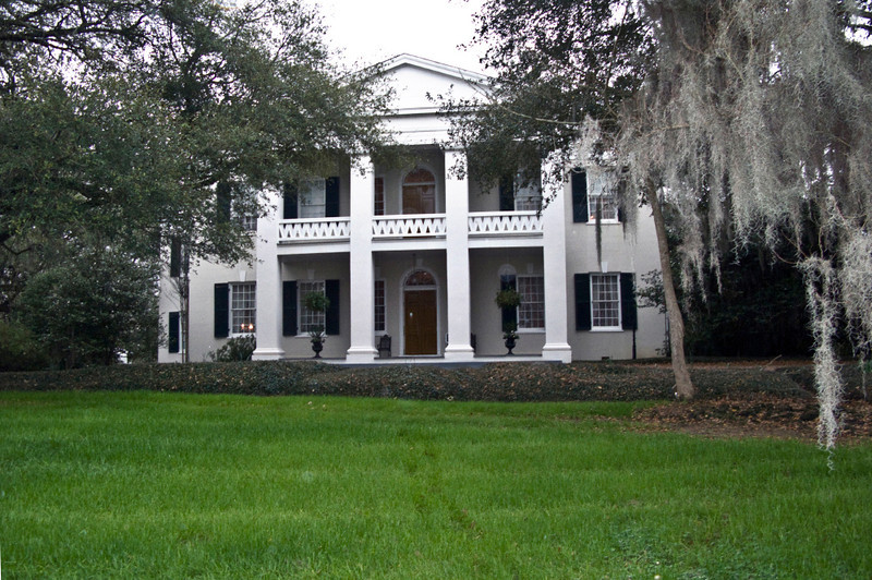 North America, USA, Mississippi, Natchez, Monmouth Plantation, built in the Federal Style by John Hankinson. ca. 1818