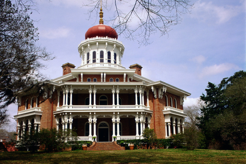North America, USA, Mississippi, Natchez, Longwood, an architectural wonder, grandest octagonal house in U.S. never completed ca.1861