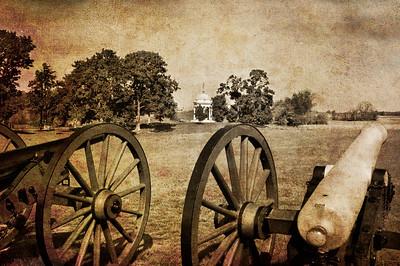 Battle Line at Antietam