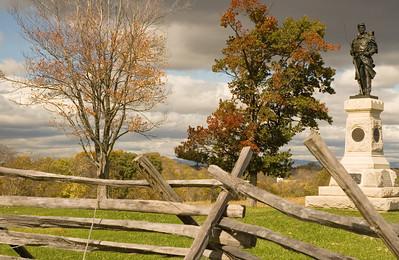 124th Penn. Infantry Monument