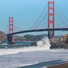 The Golden Gate Bridge from Baker Beach