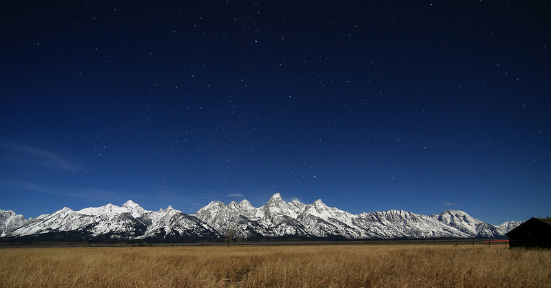2 AM in the Tetons