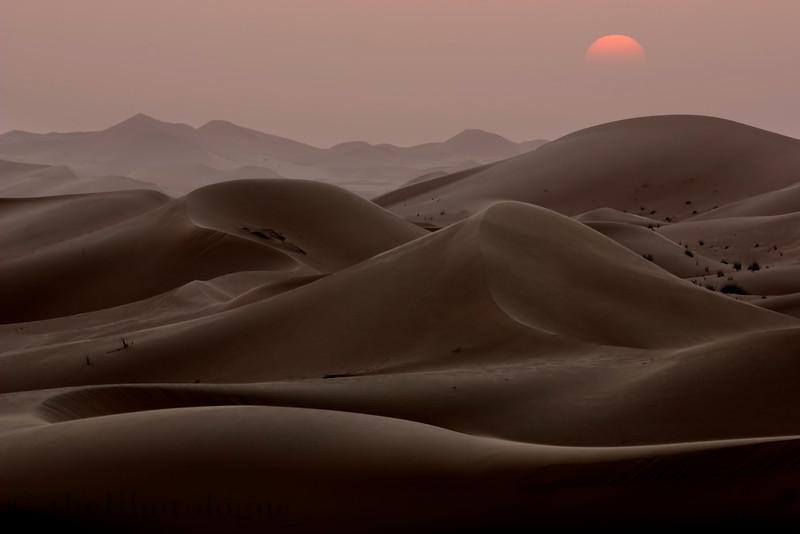 Dunes at Dusk I