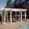PVC Trellis and Round Fiberglass Columns