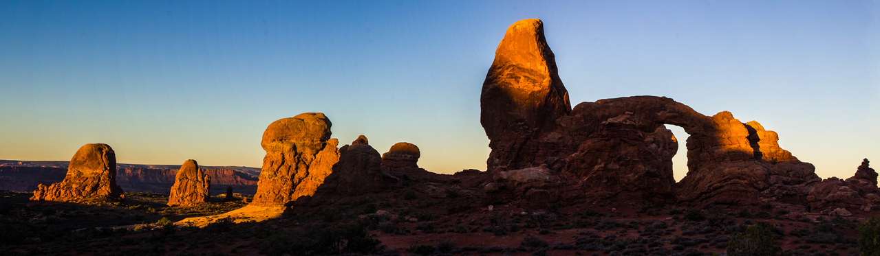 Turret Arch panorama